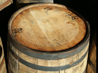 Used Whiskey Barrel